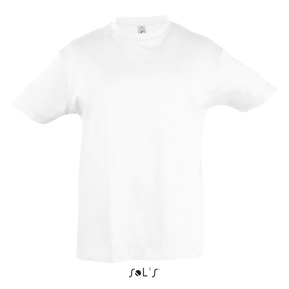 9aacefc02 Tee-Shirt Enfant Col Rond